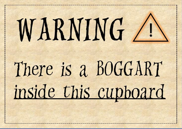 Mesmerizing image with regard to harry potter printable signs