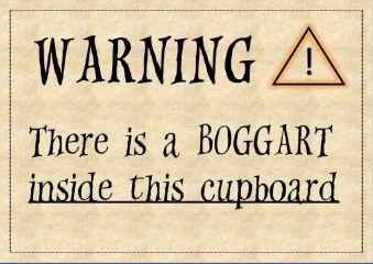 boggart warning