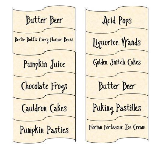 How to host an amazing HARRY POTTER THEMED PARTY!   Beth's ...