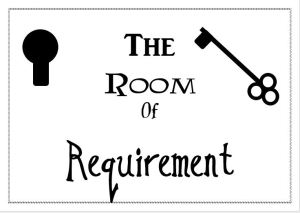 room of requirement sign
